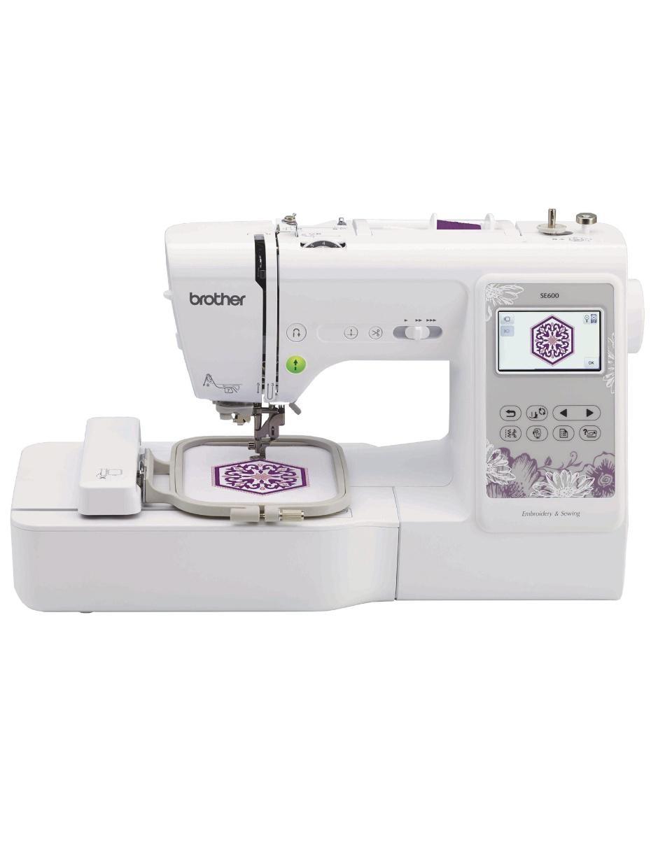 Máquina de coser Brother SE600 Blanca